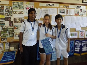 Runners Up B Grade 2 Glen Iris Valley team