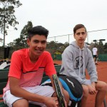 AK and Greg MCC Glen Iris Valley Tennis Club