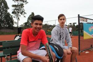 AK and Greg MCC Glen Iris Valley Tennis Club