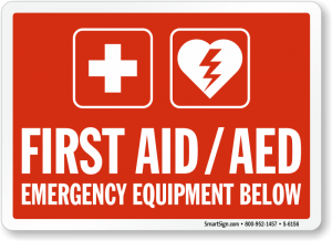 first-aid-aed-equipment-sign-s-6156