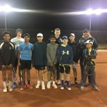 Wed nigh tennis sqaud Blake Mott