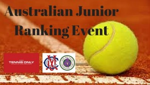 Australian Junior Ranking Event crop