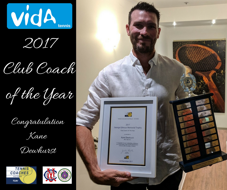 TCAV Coach Award