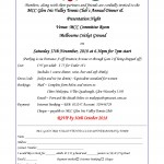2018 MCC Glen Iris Annual Dinner Invite